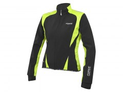 FORCE X71 LADY kurtka SOFTSHELL fluo-czarna