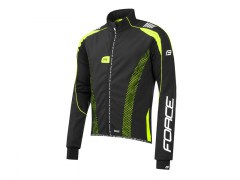 FORCE X72 PRO Softshell MEN czarno-fluo